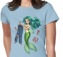 Mermaid Pants Womens Fitted T-Shirt