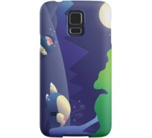 Pokemon Sleep Time - Munchlax and Snorlax Samsung Galaxy Case/Skin