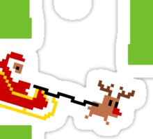 Flappy Sleigh Sticker