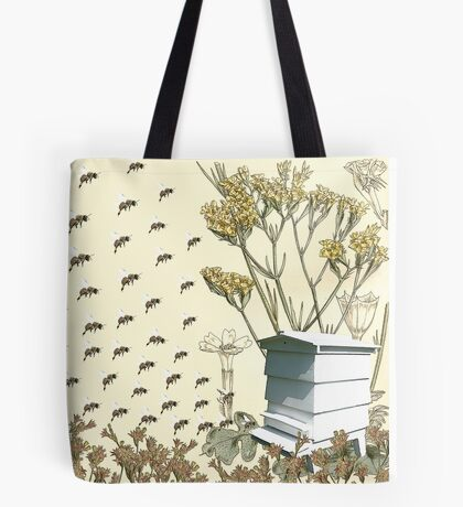 Bees to the Hive Tote Bag