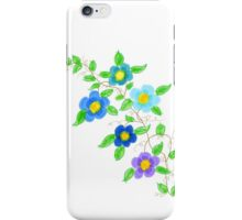 A Colorful Happy Floral Print iPhone Case/Skin