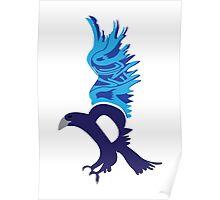 Typographic Ravenclaw Poster