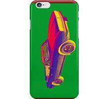 1967 Convertible Camaro Muscle Car Pop Art iPhone Case/Skin