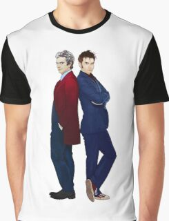 Doctor Who - Doctor 10 & Doctor 12 Graphic T-Shirt