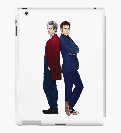 Doctor Who - Doctor 10 & Doctor 12 iPad Case/Skin