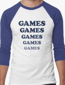 Games Games Games... shirt from Adventureland movie Men's Baseball ¾ T-Shirt