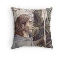 Beren the Solitary Outlaw Throw Pillow