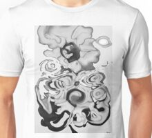 Sunflowers in Abstraction  Unisex T-Shirt