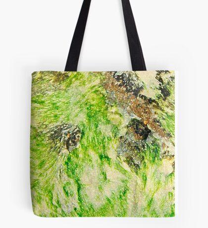Lime Seaweed Tote Bag