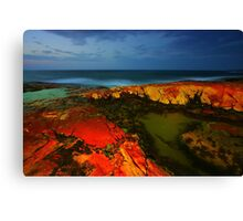 South West Rocks at Night Canvas Print