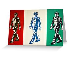 Cybermen Greeting Card