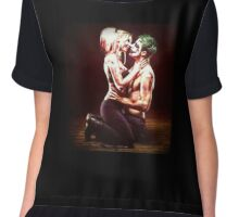 Harley Quinn & The Joker  Chiffon Top