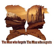 The man who regrets/forgets galifray Photographic Print