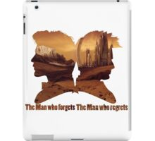 The man who regrets/forgets galifray iPad Case/Skin