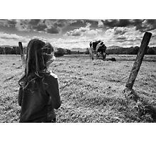 Calf - Just Born Photographic Print