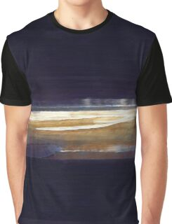 Night Beach landscape Ocean Graphic T-Shirt