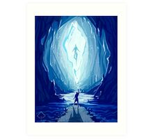 The Goddess in the Crystal Art Print