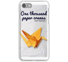 Too many paper cranes iPhone Case/Skin