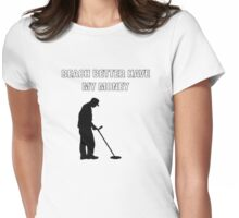 Beach better have my money by Hillary Marek  Womens Fitted T-Shirt