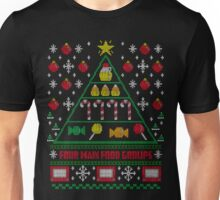 Elf Christmas Ugly Quote Unisex T-Shirt