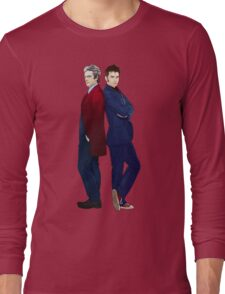 Doctor Who - Doctor 10 & Doctor 12 Long Sleeve T-Shirt