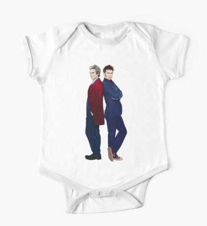 Doctor Who - Doctor 10 & Doctor 12 One Piece - Short Sleeve