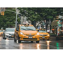 Taxi Driva  Photographic Print