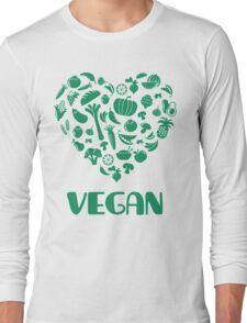 Vegan Lover Long Sleeve T-Shirt