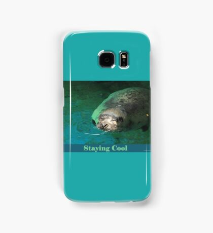 Staying Cool Samsung Galaxy Case/Skin