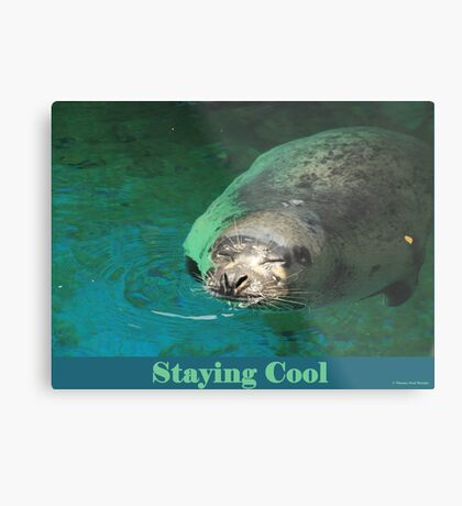 Staying Cool Metal Print