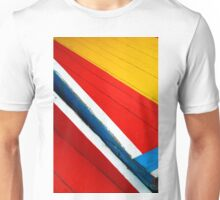 Xochimilco Boat Abstract 1 Unisex T-Shirt
