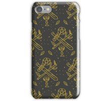 tarot suits iPhone Case/Skin