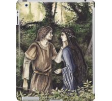 Beren & Lúthien iPad Case/Skin