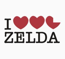 I love Zelda by howardhbaugh