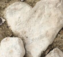 Heart Rock Creek Stomp Sticker