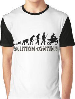 ATV Quad Bike Evolution Continues Graphic T-Shirt