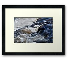 White Water at Ragged Falls, Algonquin Park, ON, Canada Framed Print