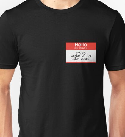 I am Voord, Hear Me Roar Unisex T-Shirt