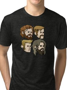MASTODON cartoon quartet Tri-blend T-Shirt