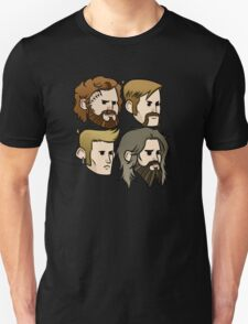 MASTODON cartoon quartet Unisex T-Shirt