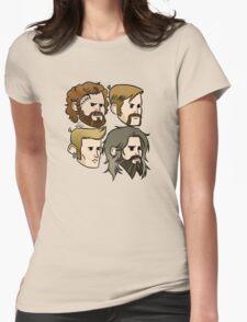 MASTODON cartoon quartet Womens Fitted T-Shirt