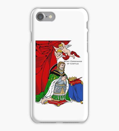 ST FERDINAND OF CASTILE iPhone Case/Skin