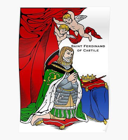 ST FERDINAND OF CASTILE Poster