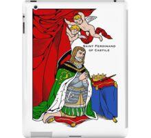 ST FERDINAND OF CASTILE iPad Case/Skin