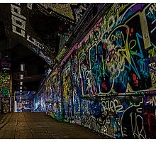 Graffiti Leake Street Photographic Print