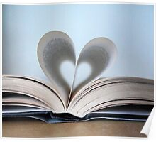 Bookish Heart Poster