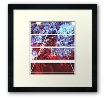 Blood and Ice Framed Print