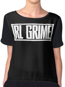RL Grime Basic (WHITE) Chiffon Top