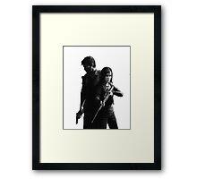 Last of Us remastered no black background Framed Print