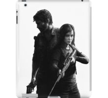 Last of Us remastered no black background iPad Case/Skin